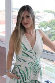 Macaquinho De Malha Fria Curto Cru Verde Babanellas Ref051
