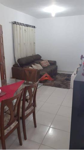 Casa Com 2 Dormitórios À Venda, 65 M² Por R$ 289.000,00 - Jardim Santa Rosa - São José Dos Campos/sp - Ca4646