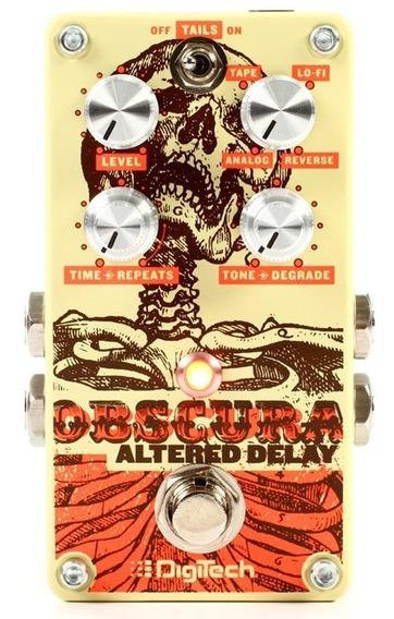 Pedal Digitech Obscura De Delay 4 Tipos Guitarra Original.