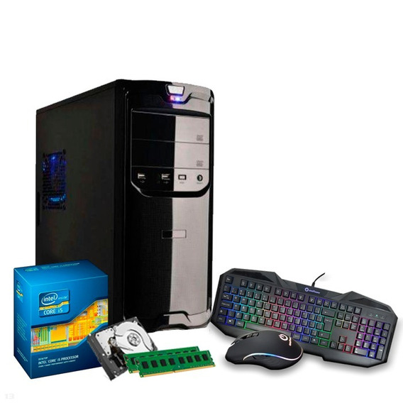 Pc Intel Core I5 3.4 Ghz, 16gb, Hd 1tb, Kit Gamer + Nfe