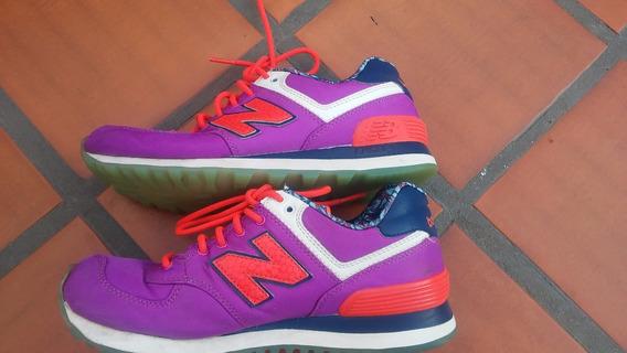 New Balance Wl 574ilb Purpura Talle 37