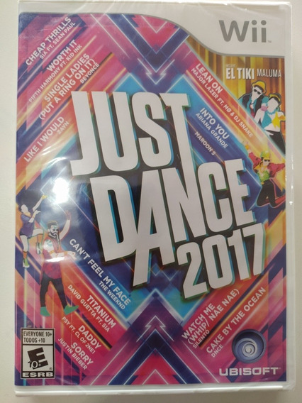Jogo Just Dance 2017 Original Lacrado Nintendo Wii