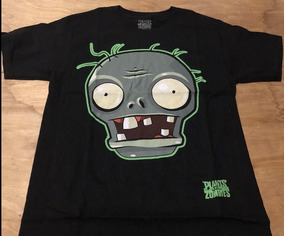 Camiseta Juvenil Plantas Contra Zombies Talla M Usa