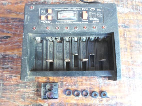 Carregador-testador Pilhas/baterias Vita Vt-398 Bivolt