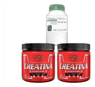 2x Creatina 300g - Integral Medica + Dilatex 152 Cáps