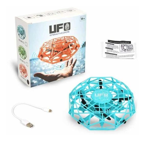 Novo Ufo Mini Drone Disco Voador Candid Sensor Pronta Entreg