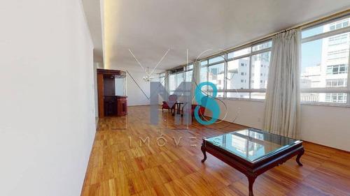 Imagem 1 de 15 de Apartamento Com 4 Dormitórios À Venda, 254 M² Por R$ 2.500.000,00 - Higienópolis - São Paulo/sp - Ap0221