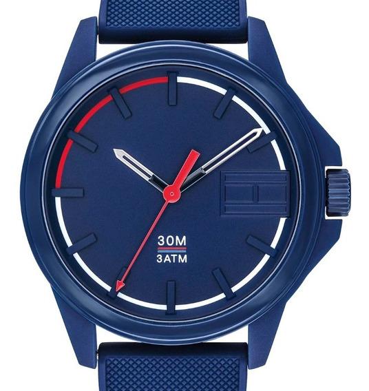 Reloj Tommy Hilfiger 1791625 Para Caballero Azul