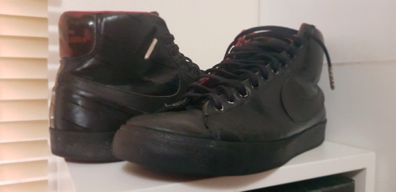 Tênis Nike Cano Alto Modelo Lp Vinil Disco Raro Ed De Coleci