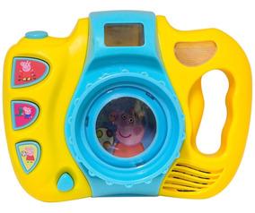 Câmera Divertida Peppa Pig Som E Luz Dtc 4699
