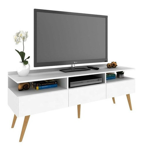 Rack Minimal De Diseño Para Tv Living
