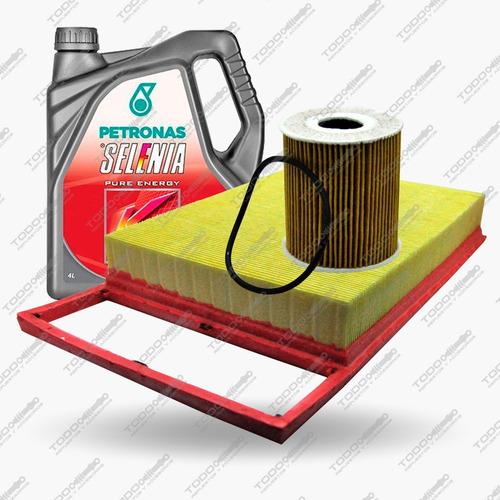 Kit 2 Filtros + Aceite Selenia Fiat Siena Fire 1.6 Original