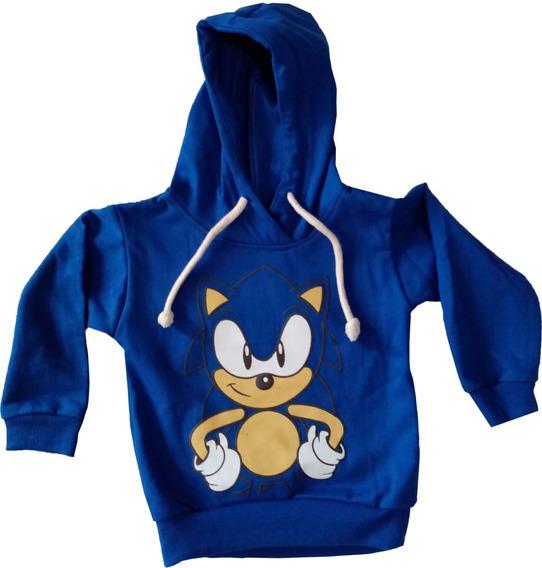 Sudadera Infantil Sonic