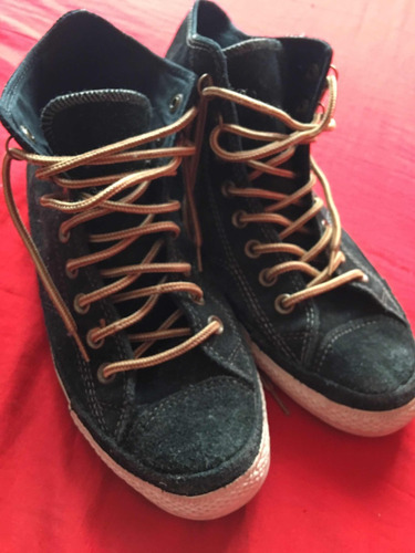 65a6fb22e3f30 Zapatillas Botitas Gamuza Hombre - Zapatillas Converse de Hombre en ...