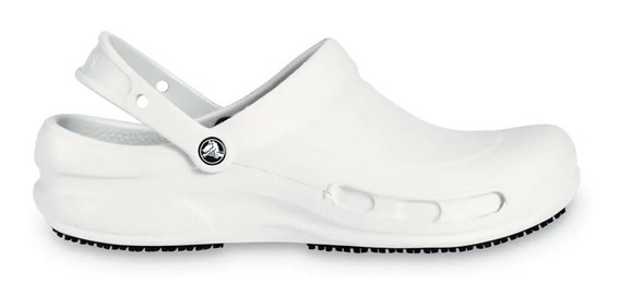 Crocs Originales Bistro C10075 Blanco Hoteleria Hombre Dama