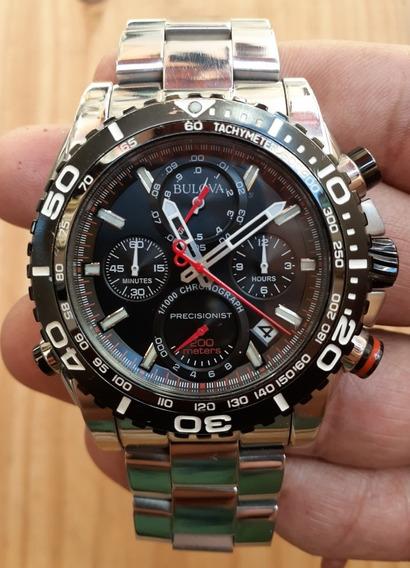 Relógio Bulova Masculino Precisionist Wb31792u 98b213 Aço