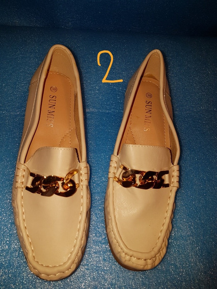 Zapato Bajo Dama Beige. Ecologico.super Comodo!!
