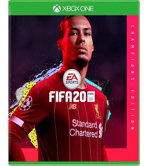 Fifa 20 Edição Dos Campeões Xbox One Código 25 Digitos