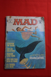 Revista Mad Argentina # 1 Tiburon - 1977