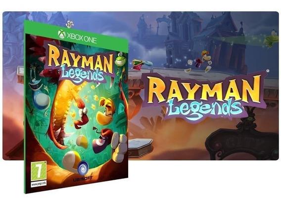 Jogo Rayman Legends Mídia Digital Xbox One Online