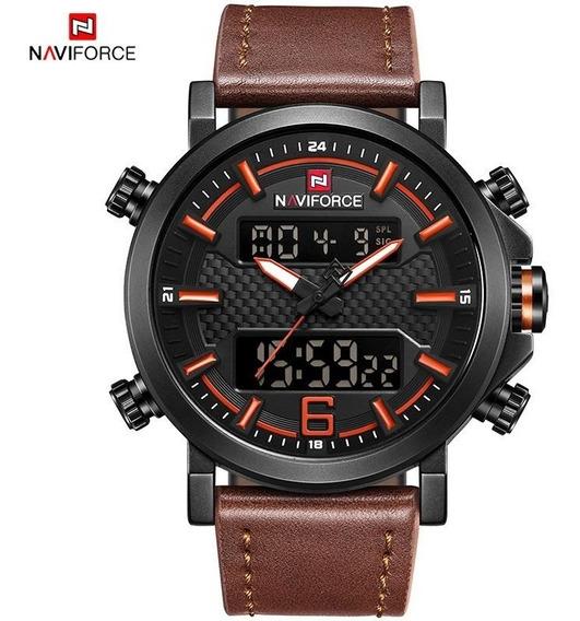 Relógio Masculino Naviforce Original, Analógico/digital