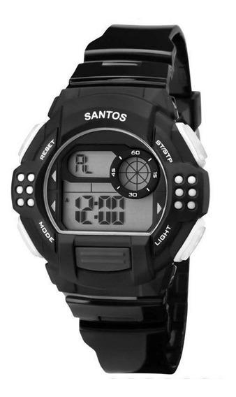 Relógio Technos Santos Preto E Branco