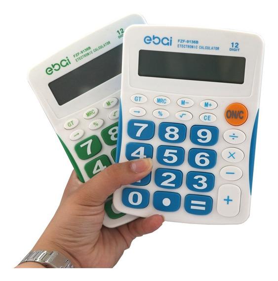 Calculadora De Mesa 8 Dígitos Tela Grande