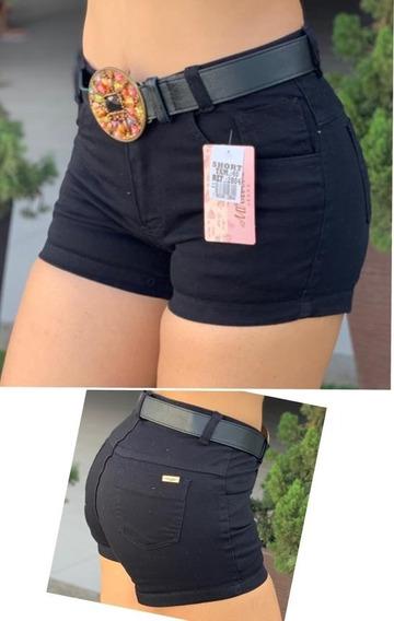Shorts Jeans Com Cinto Feminino