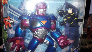 Super Hero Squad Cyclops Sentinel Mega Pack Marvel Super He