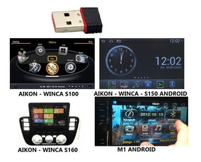 Modem Wi-fi Multimídia Aikon Winca S100/150/160 M1 Android