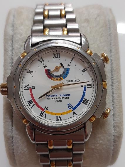 Relógio Seiko Yacht Timer Japonês