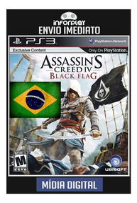 Assassins Creed Iv Black Flag Português Ps3 Psn Digital Game