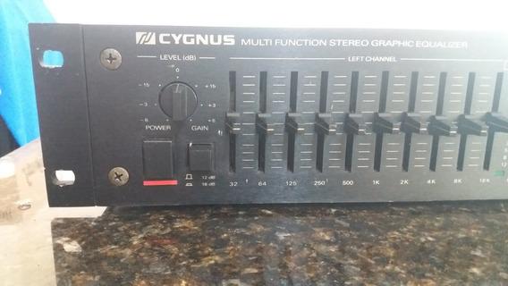 Equalizador Cygnus Ge 1800x 19 Polegadas Excelente