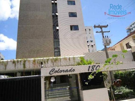 Apartamento Com 1 Dormitório Para Alugar, 35 M² Por R$ 1.600,00/mês - Graças - Recife/pe - Ap1129
