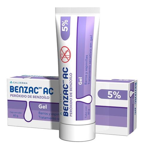 Imagen 1 de 1 de Benzac Ac Gel 5% 60gr Gel Galderma