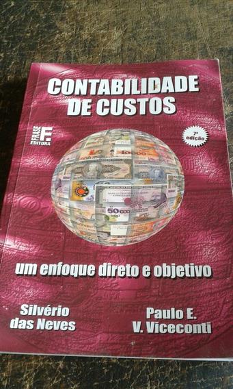 Contabilidade De Custos /2003/direto E Objetivo