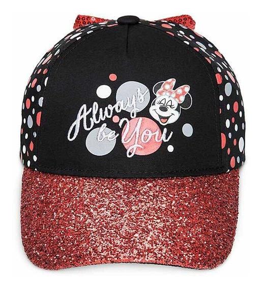 Minnie Mouse Gorra Cachucha P/ Niña Original De Disney Store