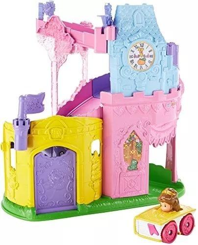 Castillo Fisher Price Little People Disney Princesa Bella