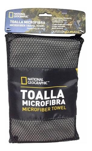 Imagen 1 de 6 de Toalla National Geographic Microfibra Secado Rapido Compacta