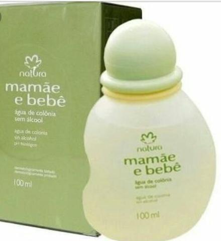 1 Natura Colônia Sem Álcool Mamãe E Bebê 100ml Frete Grátis