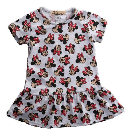 Vestidos De Niñas Minnie 6-9-12-18-24 Meses