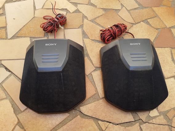 Par Caixa Surround Sony Ss Sr991 Som Antigo Lbt