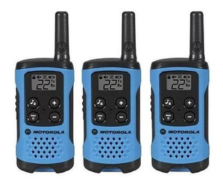 Walkie Talkie Handy Motorola T100tp Trio Alerta Bateria Baja