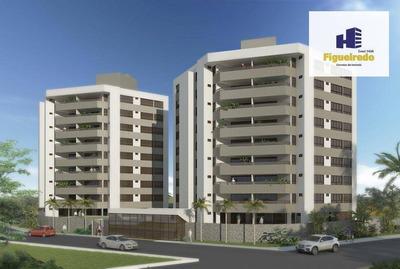 Apartamento Com 4 Dormitórios À Venda, 155 M² Por R$ 726.300 - Bessa - João Pessoa/pb - Ap5046