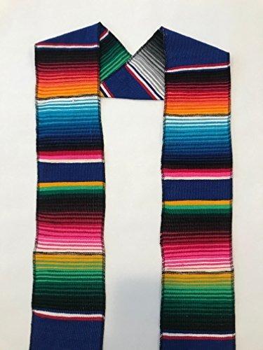 Imagen 1 de 1 de Autentico Mexicano Serape Estola Sash Para Graduacion Por