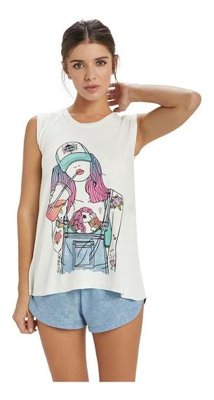 Pijama Musculosa Short Verano So Pink 11373