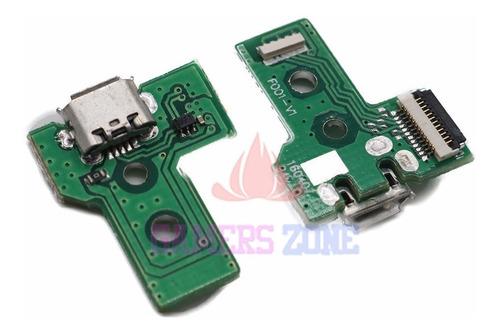 Conector O Pn De Carga Joystick Ps4 12 Pines Jds030 O F001