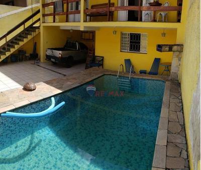 Casa À Venda Com 03 Quartos, 200 M² Com Edícula, 550.000 - Ca1019