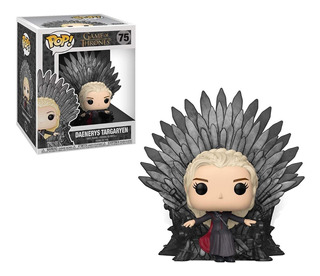 Pop! Deluxe Game Of Thrones Daenerys Sitting On Throne