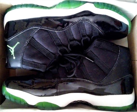 Tenis Jordan Xi Suelas Verdes Tamaño: Us 11r